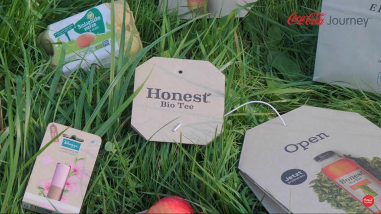 Verpackung aus Graspapier