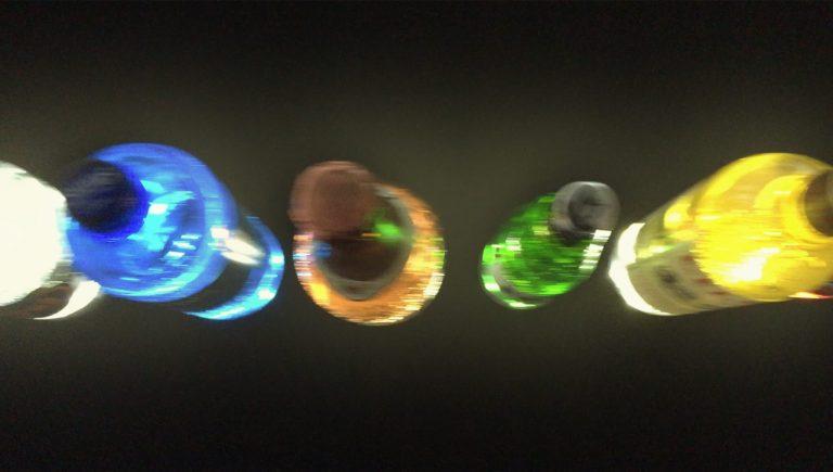 Werbemittel Bottleflash