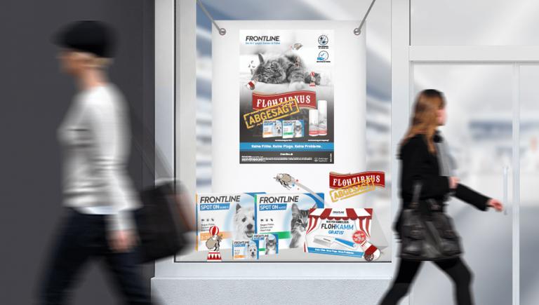 Herbstkampagne FRONTLINE: Flohzirkus abgesagt