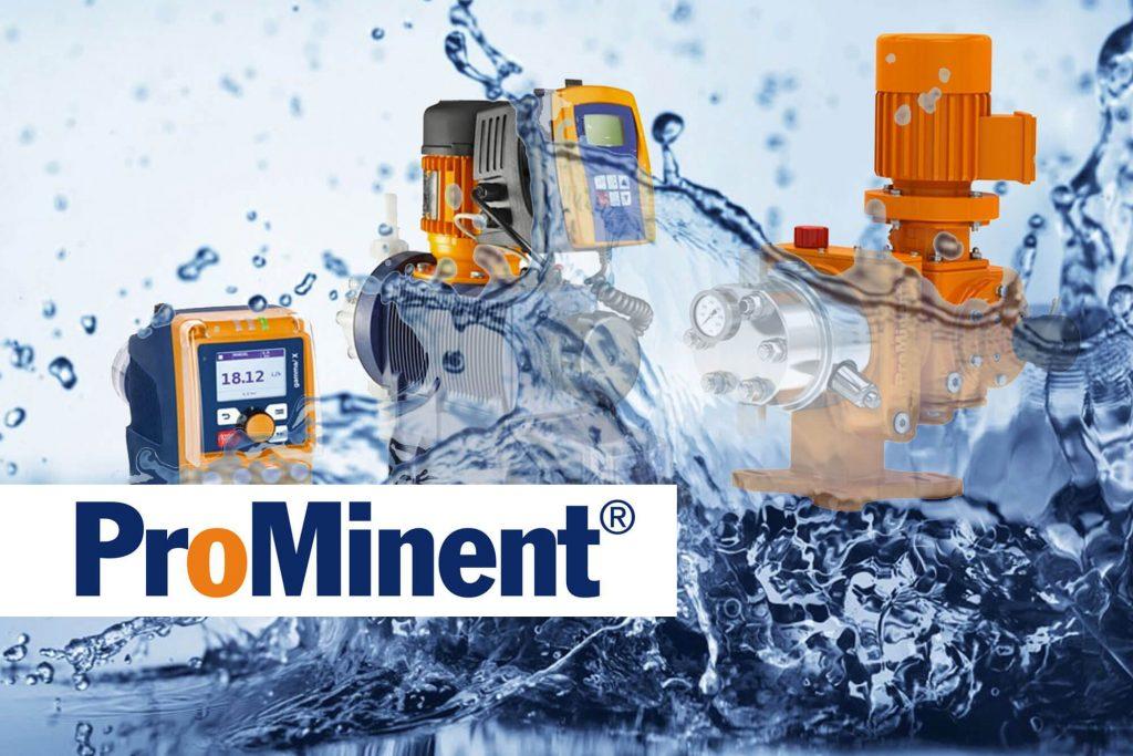 Prominent Geräte und Wasser