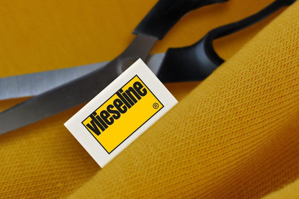 Vlieseline Logo und Schere