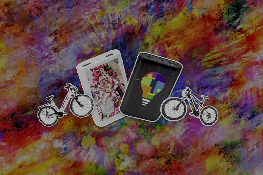 Ansmann Ladgeräte und Fahrräder