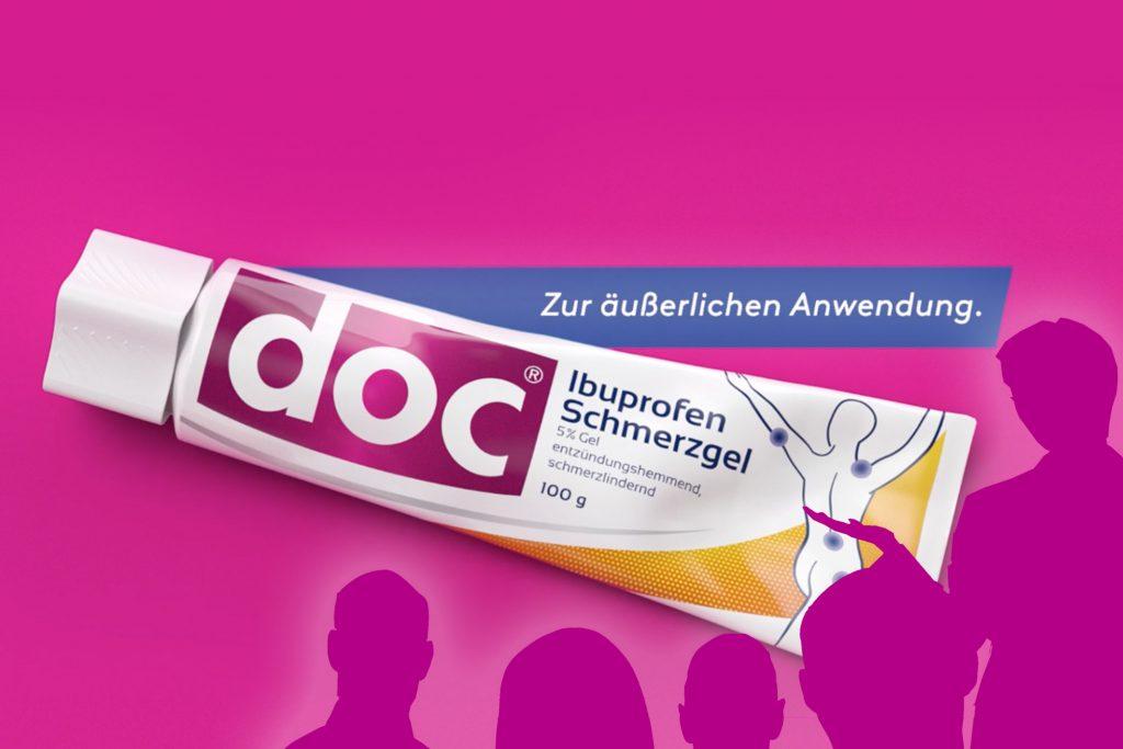 Doc Ibuprofen Schmerzgel Tube
