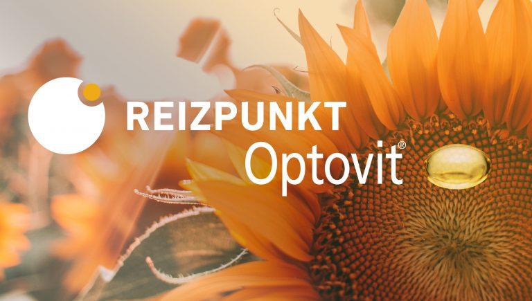 Logo Optovit Sonnenblumen