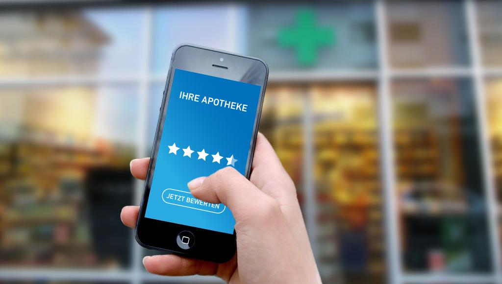 Apotheke App Sterne-Bewertung