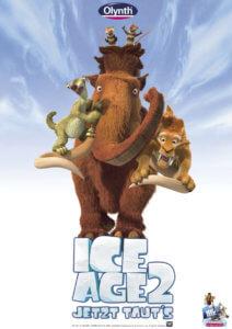 Olynth Nasenspray Ice Age Plakat
