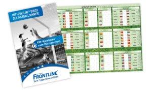 Spielplan Frontline EM Aktion 2016 Leistung