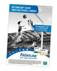 Plakat Frontline EM Aktion 2016 Leistung