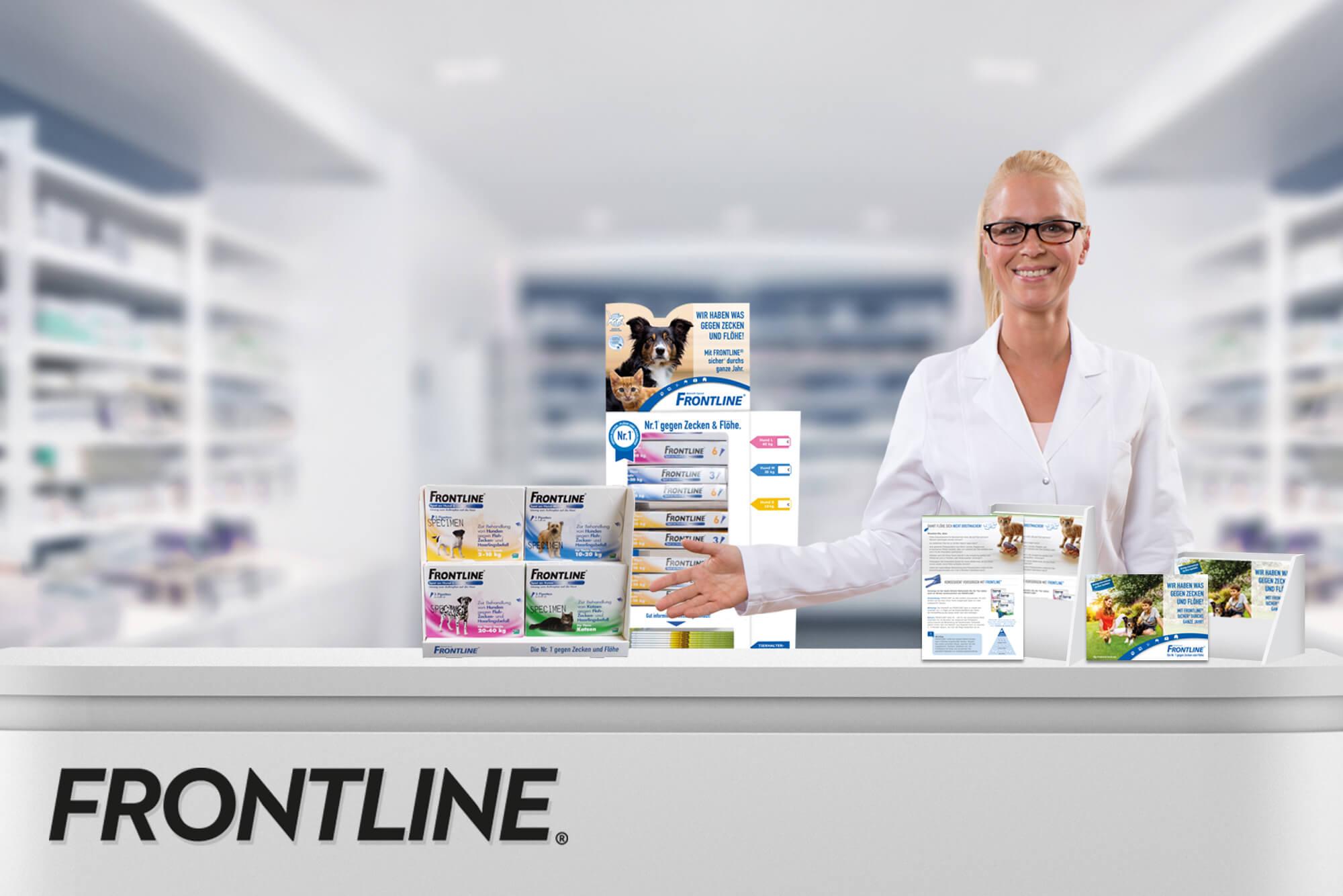 FRONTLINE Apotheken-Aktivierung