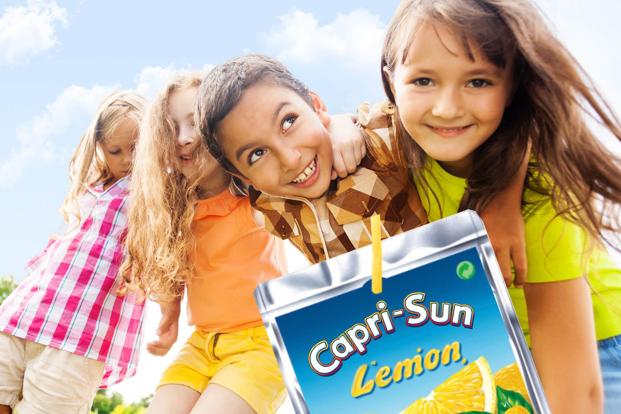 Capri-SunLemon Relaunch