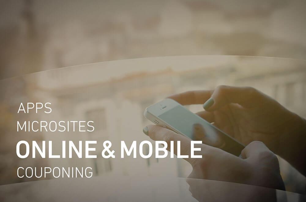 Online- und Mobile-POS-Marketing, Apps, Microsites und Coupons - denn Digital ist die Stärke von REIZPUNKT.