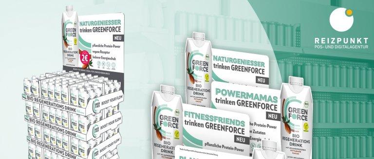 display-Magazin Greenforce