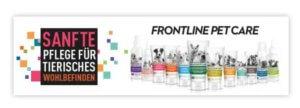 Frontline PET CARE Werbebanner