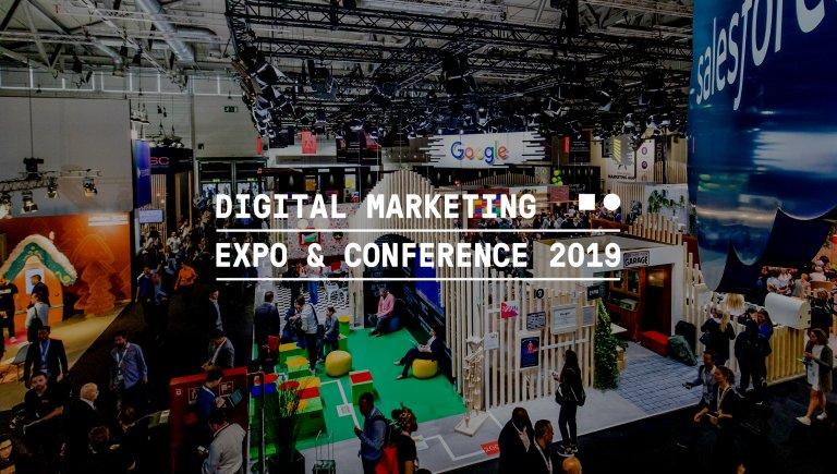 Messehalle der DMEXCO 2019