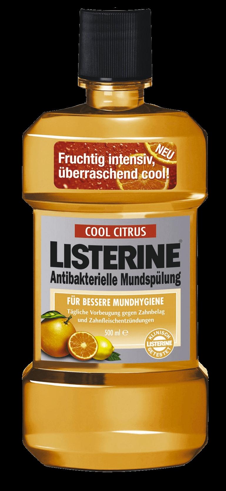 Listerine Flasche