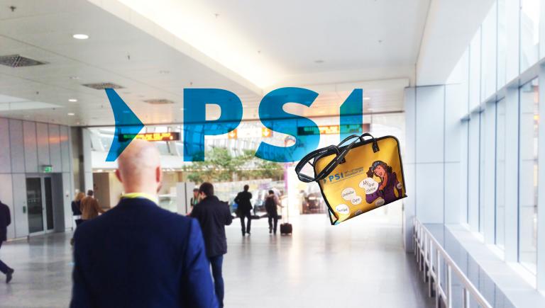 Werbeartikel auf der PSI